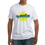 PEACE Glow Fitted T-Shirt