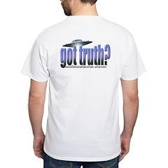 Got Truth? Blue White T-Shirt