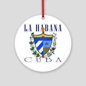 La Habana Ornament (Round)