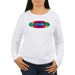 Rainbow PEACE Women's Long Sleeve T-Shirt