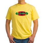 Rainbow PEACE Yellow T-Shirt