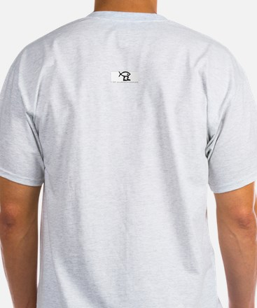 Hockey evolution. Ash Grey T-Shirt