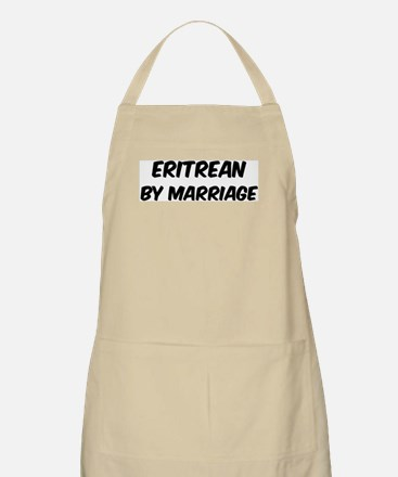Eritrean by marriage BBQ Apron