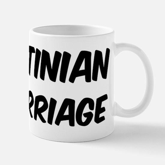 Palestinian by marriage Mug