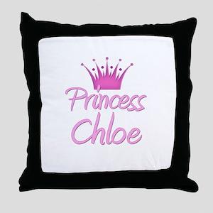 Princess Chloe Throw Pillow