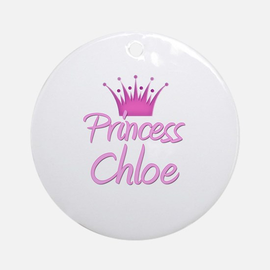 Princess Chloe Ornament (Round)