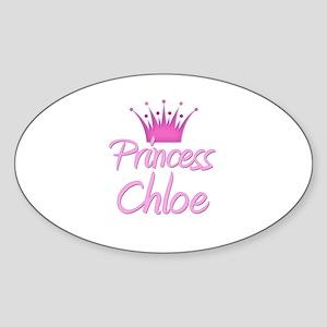 Princess Chloe Oval Sticker