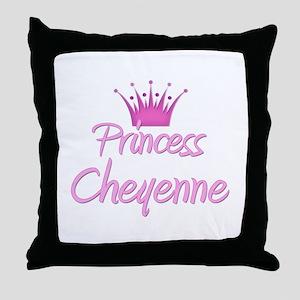 Princess Cheyenne Throw Pillow