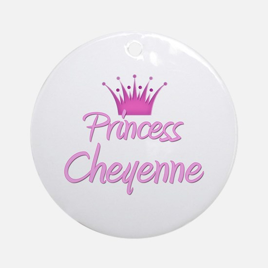 Princess Cheyenne Ornament (Round)