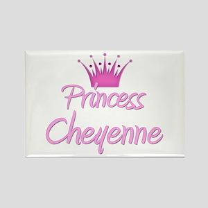 Princess Cheyenne Rectangle Magnet