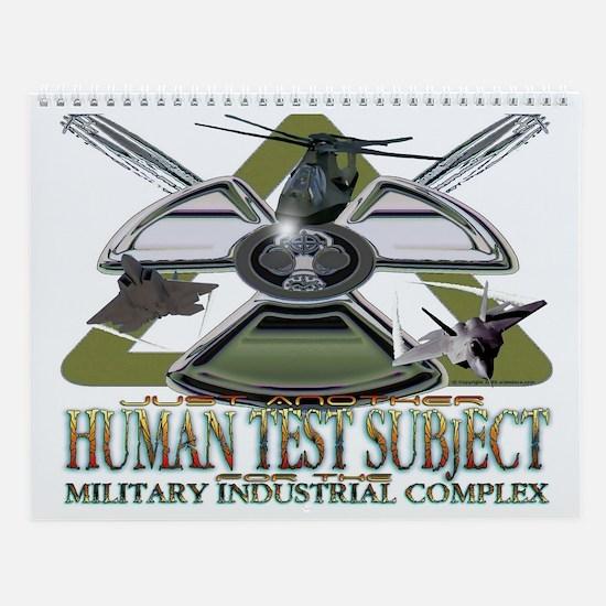 Human Test Subject Wall Calendar
