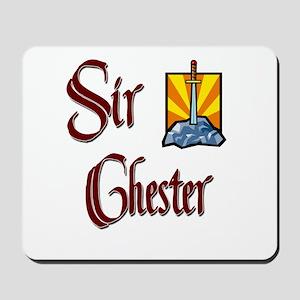 Sir Chester Mousepad