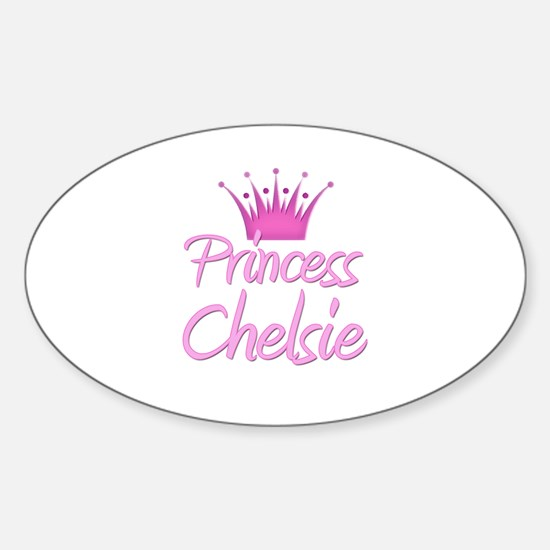 Princess Chelsie Oval Decal