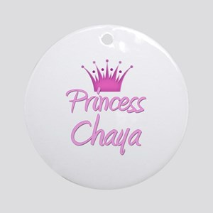 Princess Chaya Ornament (Round)