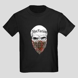 MacFarlane Tartan Bandit Kids Dark T-Shirt