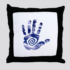 Cloud Hand Throw Pillow