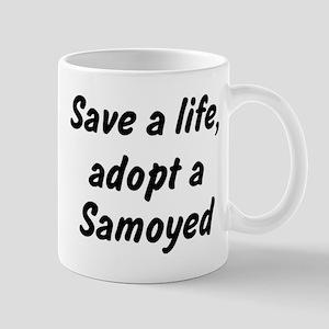 Adopt Samoyed Mug