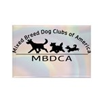 MBDCA logo Rectangle Magnet (10 pack)