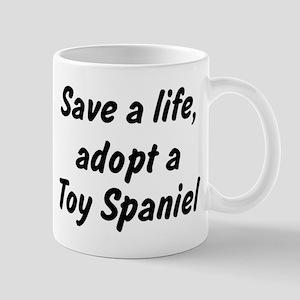 Adopt Toy Spaniel Mug