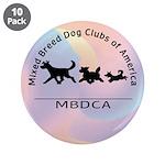 "MBDCA logo 3.5"" Button (10 pack)"