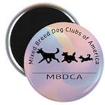 """MBDCA logo 2.25"""" Magnet (100 pack)"""