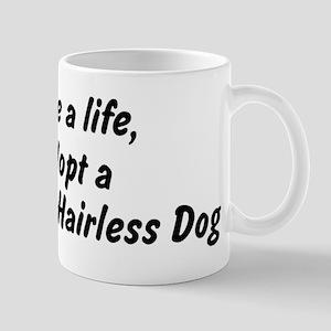 Adopt Mexican Hairless Dog Mug
