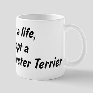 Adopt Toy Manchester Terrier Mug