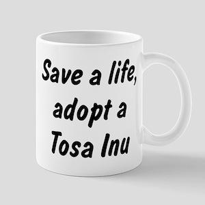 Adopt Tosa Inu Mug