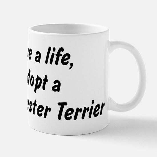Adopt Manchester Terrier Mug