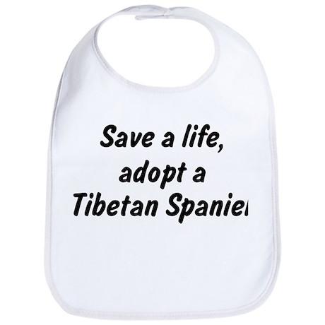 Adopt Tibetan Spaniel Bib