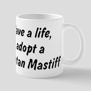 Adopt Tibetan Mastiff Mug