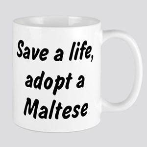 Adopt Maltese Mug