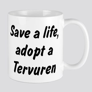 Adopt Tervuren Mug