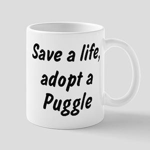 Adopt Puggle Mug