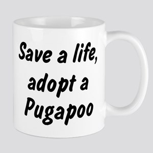 Adopt Pugapoo Mug