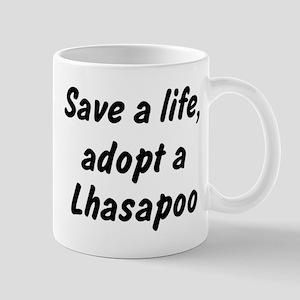 Adopt Lhasapoo Mug