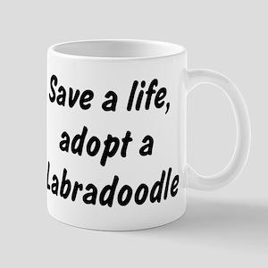 Adopt Labradoodle Mug