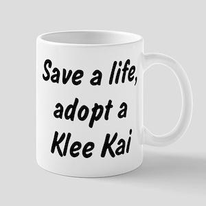 Adopt Klee Kai Mug