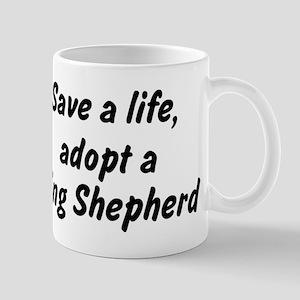 Adopt King Shepherd Mug