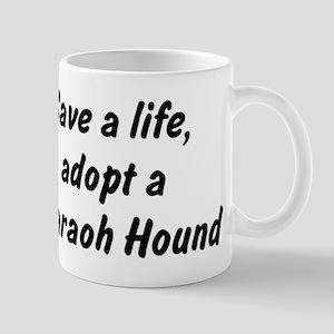 Adopt Pharaoh Hound Mug