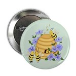 "Honey Bee Dance 2.25"" Button (10 pack)"