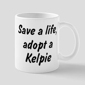 Adopt Kelpie Mug
