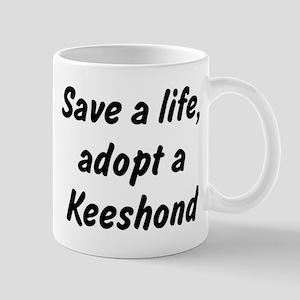 Adopt Keeshond Mug