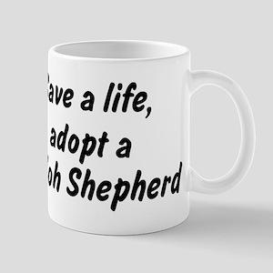 Adopt Shiloh Shepherd Mug
