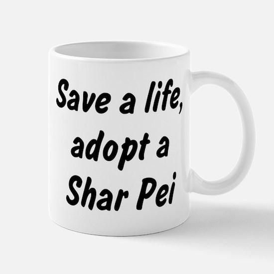Adopt Shar Pei Mug
