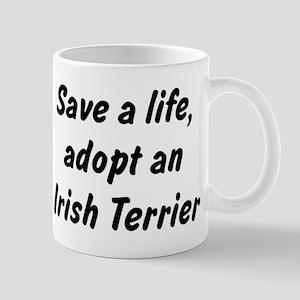 Adopt Irish Terrier Mug