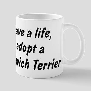 Adopt Norwich Terrier Mug