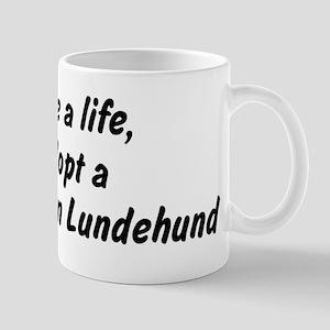 Adopt Norwegian Lundehund Mug