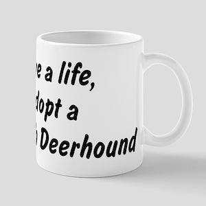 Adopt Scottish Deerhound Mug
