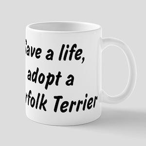 Adopt Norfolk Terrier Mug